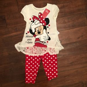 Other - Minnie Mouse 2-piece Set Size 6X